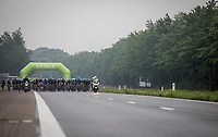 wide Peloton <br /> <br /> Binckbank Tour 2017 (UCI World Tour)<br /> Stage 4: Lanaken &gt; Lanaken (BEL) 155km