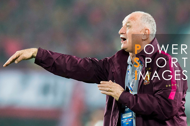 Coach Luiz Felipe Scolari of Guangzhou Evergrande FC gestures during their AFC Champions League 2017 Match Day 1 Group G match between Guangzhou Evergrande FC (CHN) and Eastern SC (HKG) at the Tianhe Stadium on 22 February 2017 in Guangzhou, China. Photo by Victor Fraile / Power Sport Images
