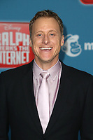 LOS ANGELES CA - NOVEMBER 5: Alan Tudyk at the LA Premiere Of Ralph Breaks The Internet in Los Angeles, California on November 5, 2018. <br /> CAP/MPI/FS<br /> &copy;FS/MPI/Capital Pictures