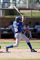 Paulo Orlando - Kansas City Royals 2009 Instructional League. .Photo by:  Bill Mitchell/Four Seam Images..