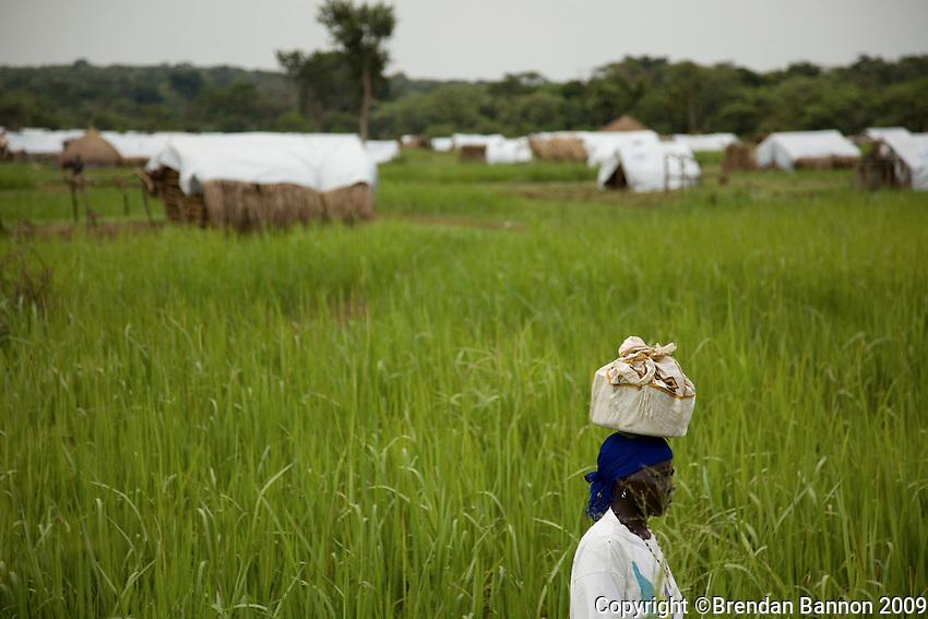 Refugee camp in Nyori, South Sudan.