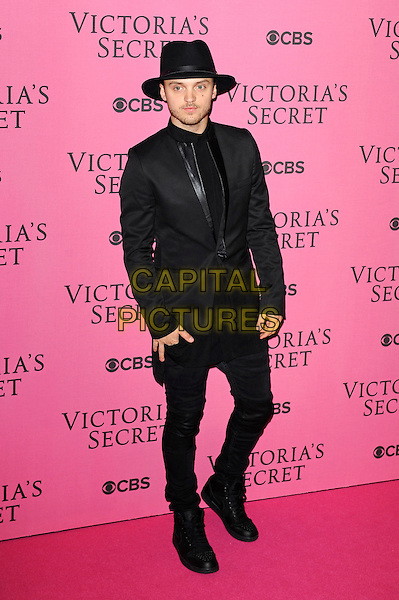 LONDON, ENGLAND - DECEMBER 2: Alexander DeLeon attends the pink carpet for Victoria's Secret Fashion Show 2014, Earls Court on December 2, 2014 in London, England.<br /> CAP/MAR<br /> &copy; Martin Harris/Capital Pictures