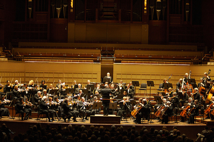 The premiere concert of Jaap van Zweden at The Meyerson Symphony Center in Dallas on November 8, 2007.