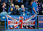 28.09.2018 Rangers v Aberdeen: Rangers fans
