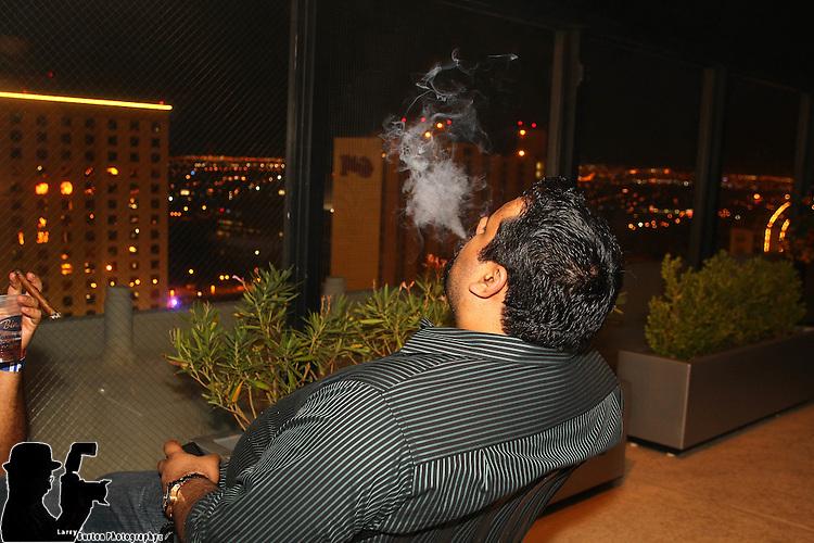 Paul Vato, cigar, pool party