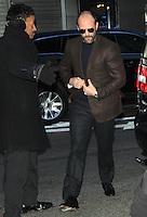 NEW YORK, NY - JANUARY 23: Jason Statham at Good Morning America in New York City. January 23, 2013. Credit: RW/MediaPunch Inc.
