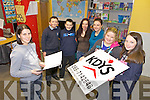 CAFE: Discussing plans for a new youth café in Castleisland this week were l-r: Madeleine Frissung (Youth Worker, KDYS), Damien Feehan, Dominic Prendiville, Josie Kerins, Helena Falvey (Youth Worker, KDYS), Ingrid Kerins, Patricia Kerins.