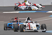 2017 F4 US Championship<br /> Rounds 4-5-6<br /> Indianapolis Motor Speedway, Speedway, IN, USA<br /> Sunday 11 June 2017<br /> #19 Timo Reger who finished 2nd in race #2 & #41 Braden Eves who finished 3rd in race #2 as well.<br /> World Copyright: Dan R. Boyd<br /> LAT Images