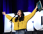 "Arielle Jacobs from ""Between the Lines""  during the BroadwayCON 2020 First Look at the New York Hilton Midtown Hotel on January 24, 2020 in New York City."