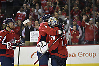 WASHINGTON, DC - APRIL 04: during the Montreal Canadiens vs. Washington Capitals NHL hockey game April 4, 2019 at Capital One Arena in Washington, D.C.. (Photo by Randy Litzinger/Icon Sportswire)