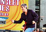 "New York, NY - Taylor Hicks performs on ""Good Morning America"" Summer Concert Series in Bryant Park, New York City, New York on Friday, July 21, 2006."