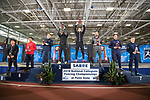 UNIVERSITY PARK, PA - MARCH 25: Eli Dershwitz of Harvard University is the National Champion in the sabre competition of the Division I Men's Fencing Championship held at the Multi-Sport Facility on the Penn State University campus on March 25, 2018 in University Park, Pennsylvania. (Photo by Doug Stroud/NCAA Photos via Getty Images)