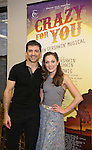 Tony Yazbeck and Laura Osnes during the Press Rehearsal for the Manhattan Concert Production of 'Crazy For You'  at Pearl Studios on 2/16/2017 in New York City.