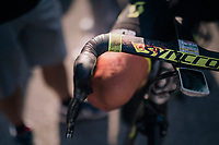 apparently it was a bloody stage for Sam Bewley (NZL/Mitchelton-Scott)<br /> <br /> Stage 10: Annecy &gt; Le Grand-Bornand (159km)<br /> <br /> 105th Tour de France 2018<br /> &copy;kramon