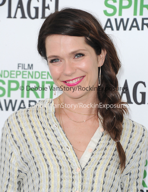 Katie Aselton<br />  attends The 2014 Film Independent Spirit Awards held at Santa Monica Beach in Santa Monica, California on March 01,2014                                                                               © 2014 Hollywood Press Agency