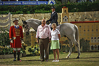 INDIGO ridden by Margie Engle in 3 way tie for first after USEF Trial #3,  USEF trials Wellington Florida. 3-22-2012
