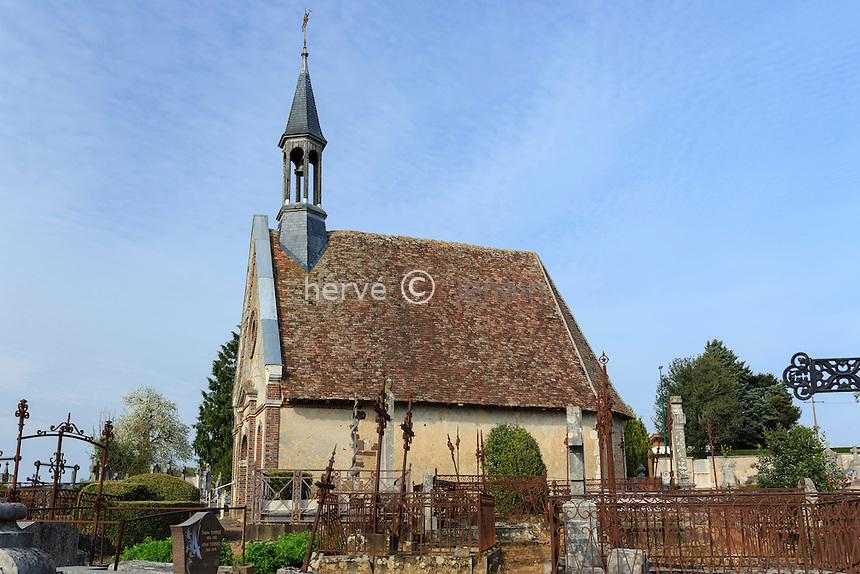 France, la Puisaye, Yonne (89), Saint-Fargeau, chapelle Sainte-Anne // France, the Puisaye, Yonne, Saint-Fargeau, Sainte Anne chapel
