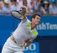 ANDY MURRAY (GBR)<br /> <br /> Aegon Championships 2014 - Queens Club -  London - UK -  ATP - ITF - 2014  - Great Britain -  11th June 2014. <br /> <br /> &copy; AMN IMAGES