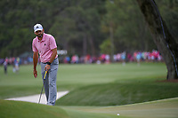Sergio Garcia (ESP) watches his putt on 9 during round 4 of The Players Championship, TPC Sawgrass, at Ponte Vedra, Florida, USA. 5/13/2018.<br /> Picture: Golffile | Ken Murray<br /> <br /> <br /> All photo usage must carry mandatory copyright credit (&copy; Golffile | Ken Murray)