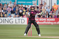 Eddie Byrom of Somerset CCC fooled by a slower short delivery from Amir during Essex Eagles vs Somerset, Vitality Blast T20 Cricket at The Cloudfm County Ground on 7th August 2019