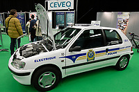 Montreal's AUTO SHOW 2007 feature many electric cars such as the Peugeot 106 currently used by Saint-Jerome Police Department.<br />
