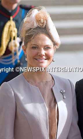 """PRINCESS VICTORIA OF SWEDEN.Religious Wedding Ceremony of HRH the Hereditary Grand Duke and Countess Stéphanie de Lannoy at Cathedral of Our lady of Luxembourg, Luxembourg_20-10-2012.Mandatory credit photo: ©Dias/NEWSPIX INTERNATIONAL..(Failure to credit will incur a surcharge of 100% of reproduction fees)..                **ALL FEES PAYABLE TO: """"NEWSPIX INTERNATIONAL""""**..IMMEDIATE CONFIRMATION OF USAGE REQUIRED:.Newspix International, 31 Chinnery Hill, Bishop's Stortford, ENGLAND CM23 3PS.Tel:+441279 324672  ; Fax: +441279656877.Mobile:  07775681153.e-mail: info@newspixinternational.co.uk"""