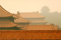 The Forbidden City in Beijing is the largest collection of preserved ancient wooden structures in the world and was declared a World Heritage Site in 1987. Chinese imperial roof decoration or roof charms or roof-figures were only allowed on official buildings of the empire.