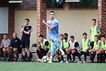 ELON, NC - AUGUST 25: North Carolina's Alex Comsia (CAN). The University of North Carolina Tar Heels hosted the Providence College Friars on August 25, 2017 at Rudd Field in Elon, NC in a Division I college soccer game. UNC won the game 4-2.