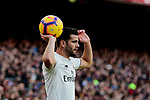 Real Madrid's Nacho Fernandez during La Liga match between FC Barcelona and Real Madrid at Camp Nou Stadium in Barcelona, Spain. October 28, 2018. (ALTERPHOTOS/A. Perez Meca)