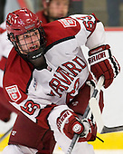 Colin Blackwell (Harvard - 63) - The Yale University Bulldogs defeated the Harvard University Crimson 5-1 on Saturday, November 3, 2012, at Bright Hockey Center in Boston, Massachusetts.