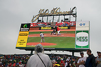 Fenway Park Rain Delays - June 22, 2011
