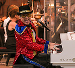 Craig Meyer as (almost) Elton John performs during Pops on the River at Wingfield Park in Reno, Nevada on Saturday, July 14, 2018.