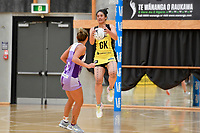 Pulse&rsquo; Sulu Fitzpatrick in action during the Netball Pre Season Tournament - Pulse v Stars at Ngā Purapura, Otaki, New Zealand on Saturday 9 February  2019. <br />