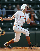 Texas Longhorns 1B Brandon Belt during the 2008 season. Photo by Andrew Woolley / Four Seam Images.