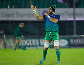 4th November 2017, Galway Sportsground, Galway, Ireland; Guinness Pro14 rugby, Connacht versus Cheetahs; Connacht captain John Muldoon during the warm up