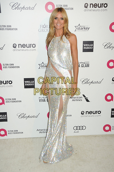 22 February 2015 - West Hollywood, California - Heidi Klum. 23rd Annual Elton John Oscar Viewing Party held at West Hollywood Park. <br /> CAP/ADM/BP<br /> &copy;BP/ADM/Capital Pictures