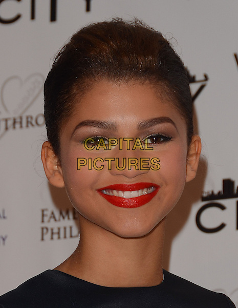 02 March 2014 - Beverly Hills, California - Zendaya Coleman.  Fame and Philanthropy Post-Oscar Gala celebrating the 86th Annual Academy Awards held at The Vineyard Beverly Hills. <br /> CAP/ADM/BT<br /> &copy;Birdie Thompson/AdMedia/Capital Pictures