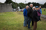 Spectators watching the second-half action at Millburn Park, Alexandria, as Vale of Leven (in blue) hosted Ashfield in a West of Scotland League Central District Second Division Junior fixture. Vale of Leven were one of the founder members of the Scottish League in 1890 and remained part of the SFA and League structure until 1929 when the original club folded, only to be resurrected as a member of the Scottish Junior Football Association after World War II. They lost the match to Ashfield by 4-3, having led 3-1 with 10 minutes remaining.
