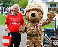 Volunteers for Help For Heroes Charity during Afternoon Racing at Salisbury Racecourse on 16th May 2019