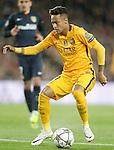 FC Barcelona's Neymar Santos Jr during Champions League 2015/2016 match. April 5,2016. (ALTERPHOTOS/Acero)