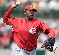 Cueto, Johnny 7116.jpg. Spring Training. Cincinnati Reds at Houston Astros. Spring Training Game. Friday March 20th, 2009 in Kissimmee., Florida. Photo by Andrew Woolley.