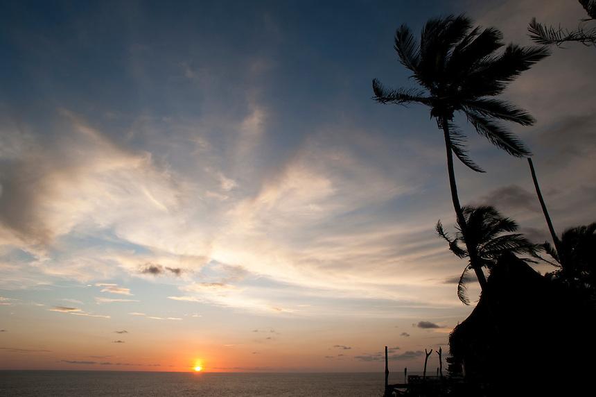 Sunset from Flamingo's hotel, Acapulco, Guerrero, Mexico