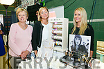 At the Tralee Enterprise Town,Community, Sport and Business Expo at Tralee Sports Complex on Friday were Margaret Nolan, Louise Nolan and Trish Breen