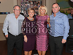 Lorraine Hoey celebrating her 50th birthday in the Thatch with husband Paddy and her parents Lukie and Ronnie Gibney. Photo:Colin Bell/pressphotos.ie