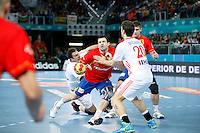 Spain and Croatia during 23rd Men's Handball World Championship preliminary round match, in the pic: Carlos Ruesga Pasarin. January 19 ,2013. (ALTERPHOTOS/Caro Marin) /NortePhoto