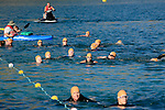 First time triathletes competing in the Chelanman Multisport Weekend's Try-A-Try have to swim 400 meters, bike 13.1 miles and run 3.1 miles.