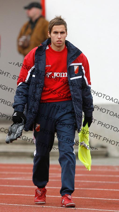 Fudbal, Meridijan super liga, sezona 2007/08.Vojvodina Vs. Crvena Zvezda.Mario Djurovski.Novi Sad, 12.15.2007..foto: Srdjan Stevanovic