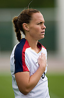 Christie Rampone.. The USWNT defeated Denmark, 2-0, in Lagos, Portugal during the Algarve Cup.