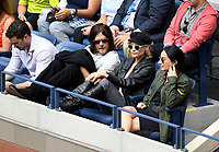 FLUSHING NY- SEPTEMBER 10: *** NO NY DAILIES***  2017 US Open Men's Final - Rafael Nadal Vs Kevin Anderson: Norman Reedus and Diane Kruger attend todays Championship match on Arthur Ashe Stadium during the US Open at the USTA Billie Jean King National Tennis Center on September 10, 2017 in Flushing Queens. <br /> CAP/MPI04<br /> &copy;MPI04/Capital Pictures