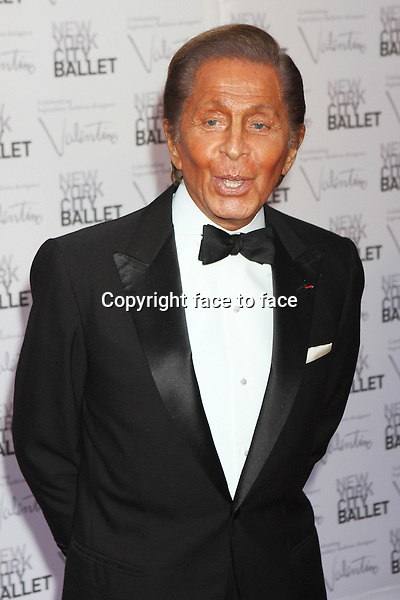 Valentino Garavani attends the New York City Ballet Fall Gala celebrating designer Valentino_at Lincoln Center's David H. Koch Theater in New York, 20.09.2012. Credit: Rolf Mueller/face to face